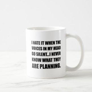 Voices Go Silent Planning Coffee Mug
