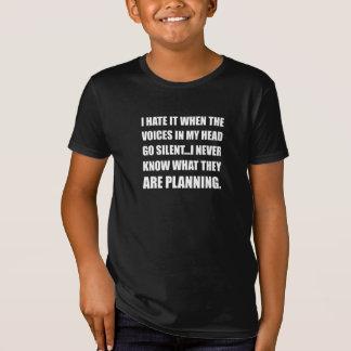 Voices Go Silent Planning T-Shirt