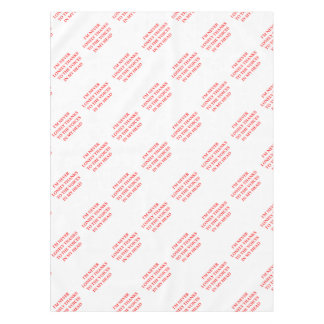 VOICES TABLECLOTH