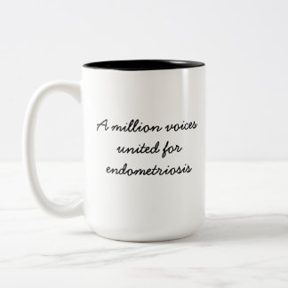 voices united for endometriosis Coffee/Tea Mug