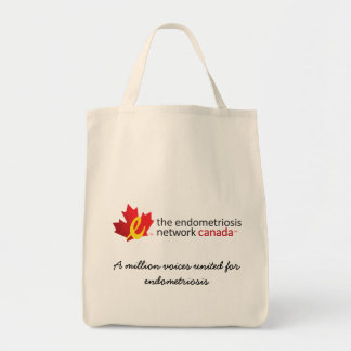 voices united for endometriosis Shopping Tote