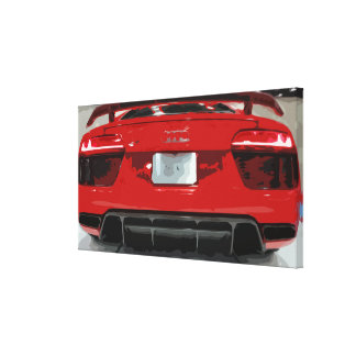 Posters affiches toiles garage for Voiture dans un garage