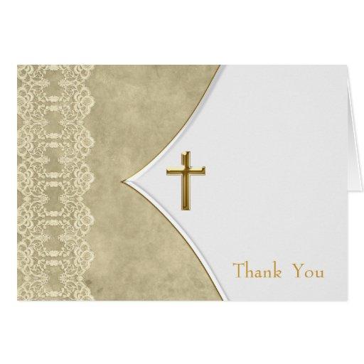 Voiture ene ivoire de Merci de baptême de baptême  Carte De Vœux