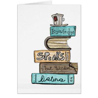 vol25- knowledge speaks card