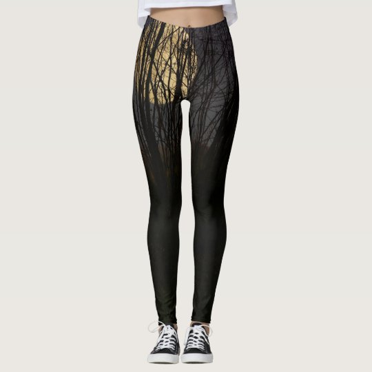 VOL moon over forest Leggings