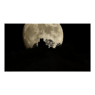 VOL moon over wolfer monasteries Poster