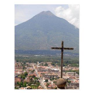Volcan Agua, Guatemala, Postcard