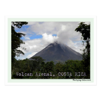 Volcan Arenal COSTA RICA Postcard
