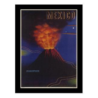 Volcan Paricutin Mexico Postcard