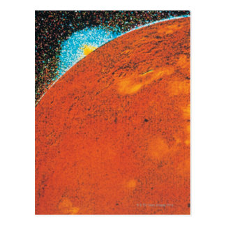 Volcanic Explosion on Io Postcard
