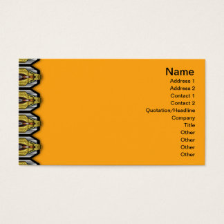 Volcanic Rock Formation Seamless Illusion Business Card