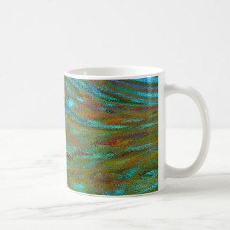 VOLCANIC VENT UNDER THE ICECAP OF PLANET TURION COFFEE MUG