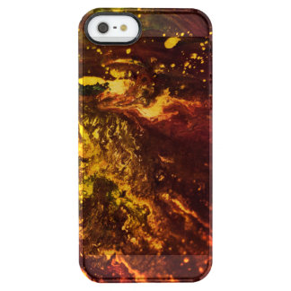Volcanic World Clear iPhone SE/5/5s Case