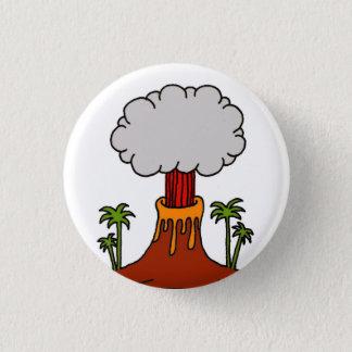 Volcano 1 Inch Round Button