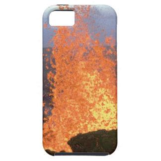 volcano blast of lava iPhone 5 cover