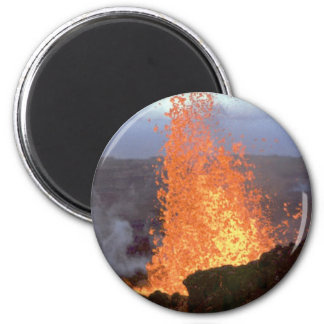 volcano blast of lava magnet