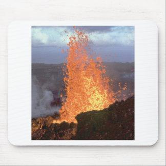 volcano blast of lava mouse pad