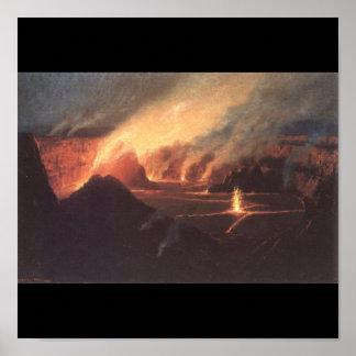 Volcano, ca. 1880s Hawaii Poster