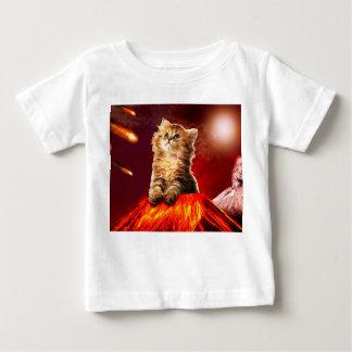 volcano cat ,vulcan cat , baby T-Shirt