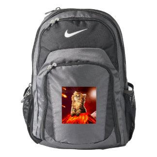 volcano cat ,vulcan cat , backpack