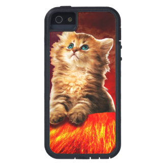 volcano cat ,vulcan cat , case for the iPhone 5