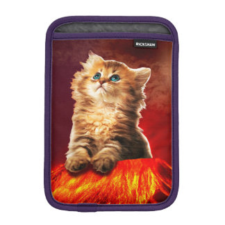 volcano cat ,vulcan cat , iPad mini sleeve