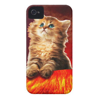 volcano cat ,vulcan cat , iPhone 4 cases