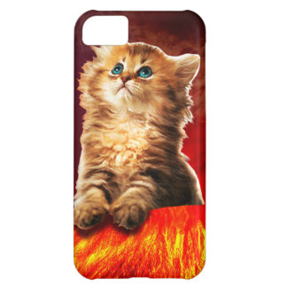 volcano cat ,vulcan cat , iPhone 5C cover