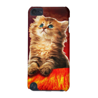 volcano cat ,vulcan cat , iPod touch (5th generation) covers