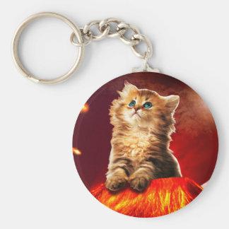 volcano cat ,vulcan cat , keychain