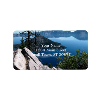 Volcano Deep Blue Crater Lake Oregon USA
