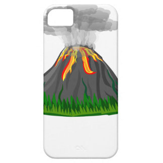 volcano eruption and fire case for the iPhone 5