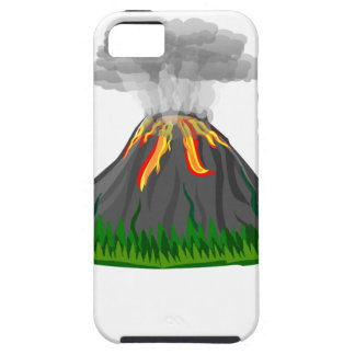 volcano eruption and fire iPhone 5 cases