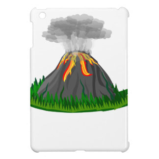 volcano fire eruption iPad mini cover