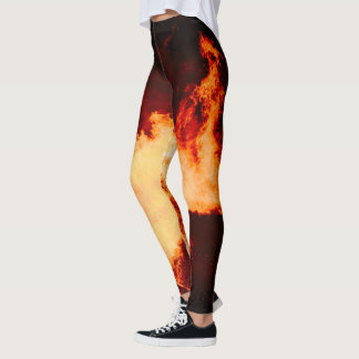 Volcano Fire Leggins Hot! Leggings