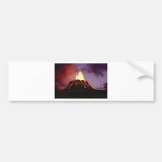 volcano force bumper sticker