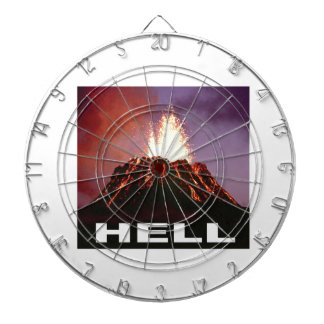 volcano hell dartboard