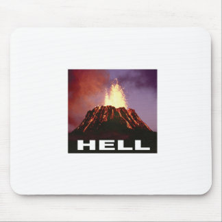 volcano hell mouse pad