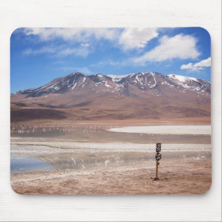 Volcano in an Altiplano landscape mousepad