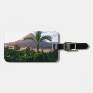 Volcano In The Tropics Luggage Tag
