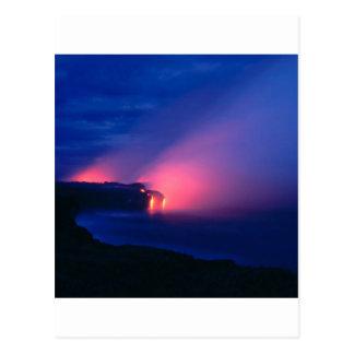Volcano Lava Flow Kilauea Hawaii Postcard