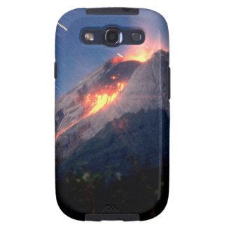 Volcano Natural Wonder Samsung Galaxy SIII Cases