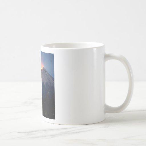 Volcano Natural Wonder Coffee Mugs