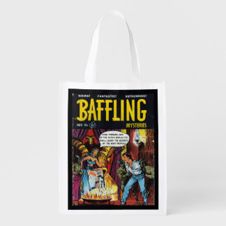 Volcano of Vengeance - Comic Reusable Grocery Bags
