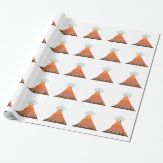 Volcano Wrapping Paper