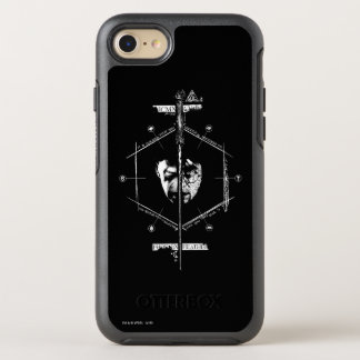 Voldemort Harry Potter Face Off Graphic OtterBox Symmetry iPhone 7 Case