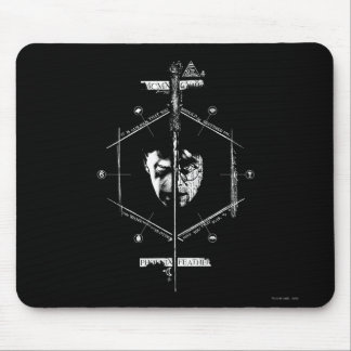 Voldemort Harry Potter font face au graphique Tapis De Souris