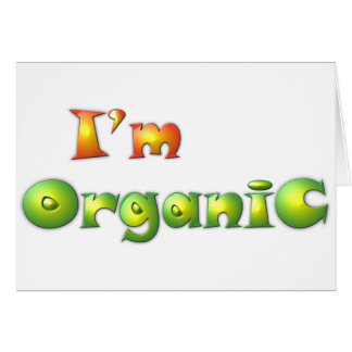 Volenissa - I'm organic Card