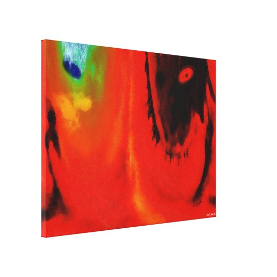 Volition Canvas Print