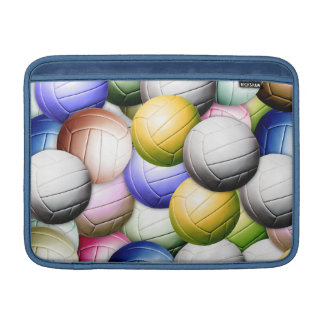 Vollageball Collage MacBook Sleeve